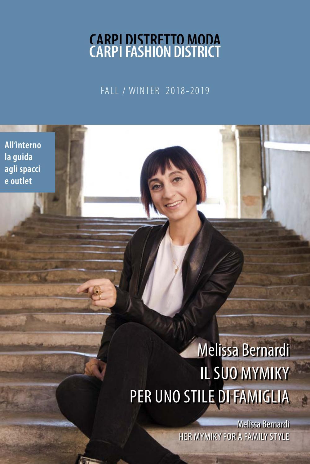 Carpi Distretto Moda FallWinter 2018 2019 by Voce di Carpi