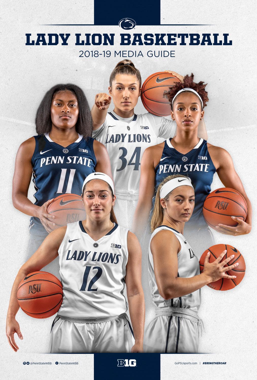 2018 19 Penn State Women's Basketball Media Guide by Penn