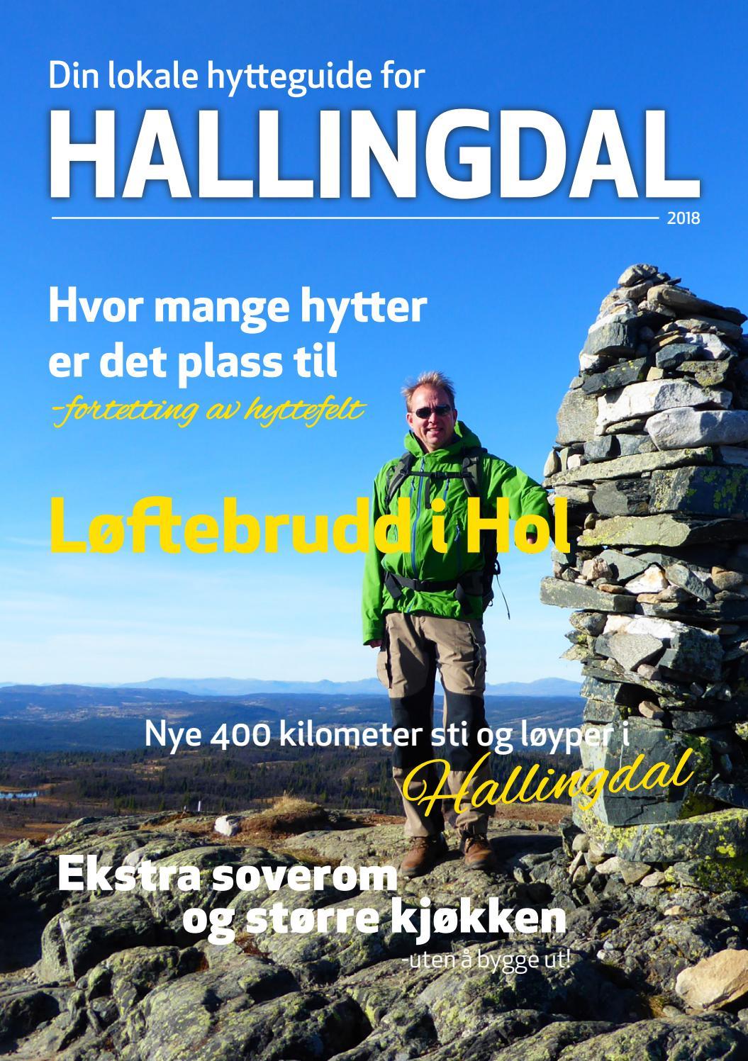 711423fb Din lokale hytteguide for Hallingdal 2018 by Norsk Hyttelag - issuu