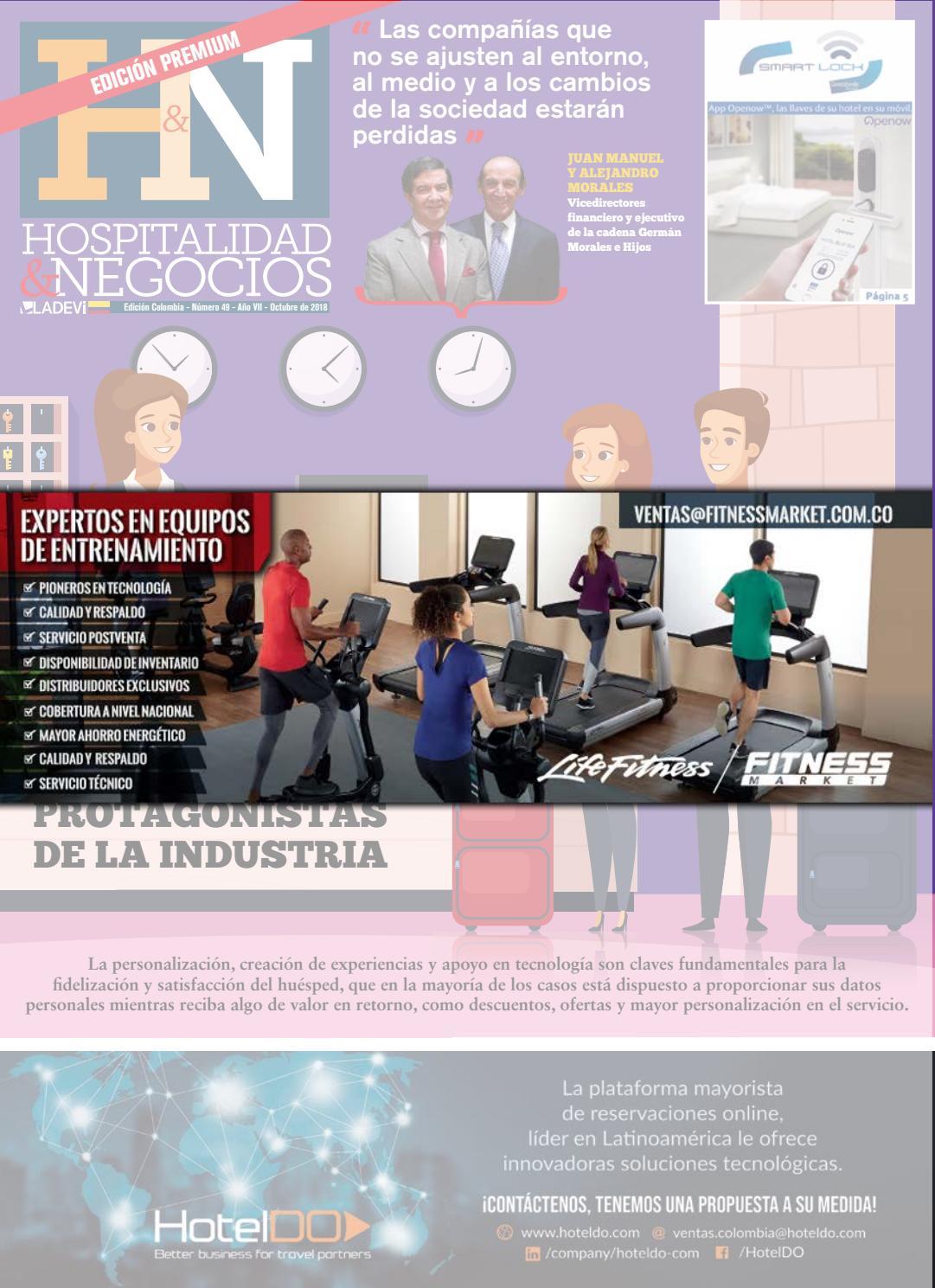 Hospitalidad y Negocios Colombia N° 49 by Ladevi Media & Solutions - issuu