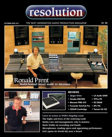 Resolution V2 7 October 2003 By Resolution Issuu