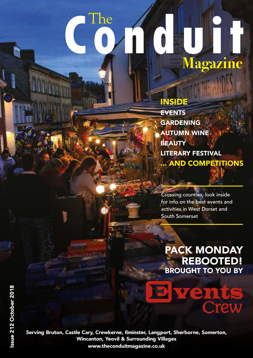d153c8151cb The Conduit Magazine Issue 212 October 2018 by Shelleys the Printers ...
