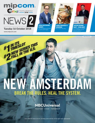 MIPCOM 2018 NEWS 2 by MIPMarkets - issuu