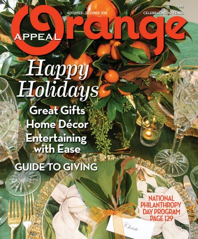 bc2d9f06c5da Orange Appeal November December 2018 by Orange Appeal - issuu