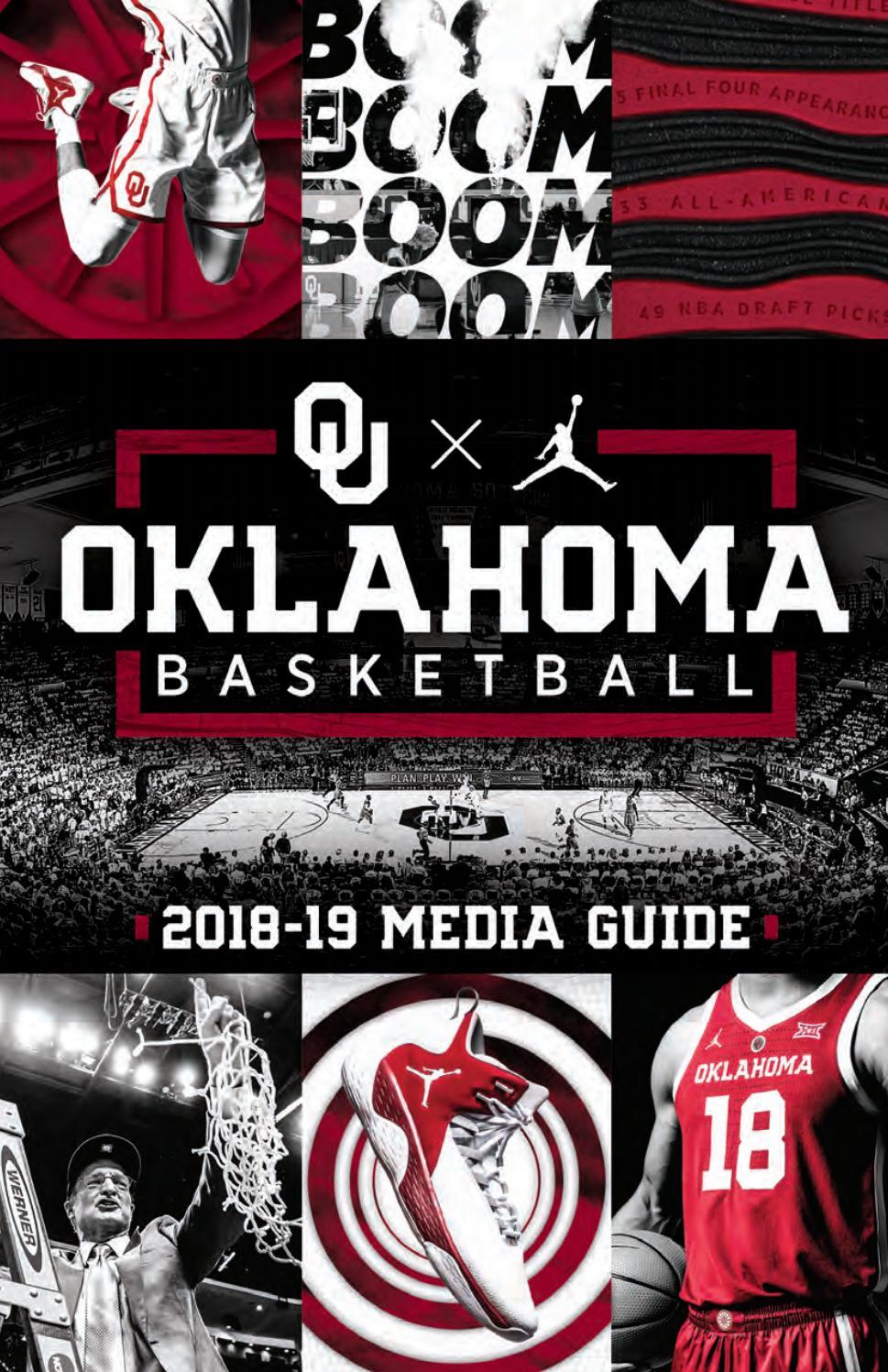 13955bae8e5 2018-19 Oklahoma Men s Basketball Media Guide by OU Athletics - issuu