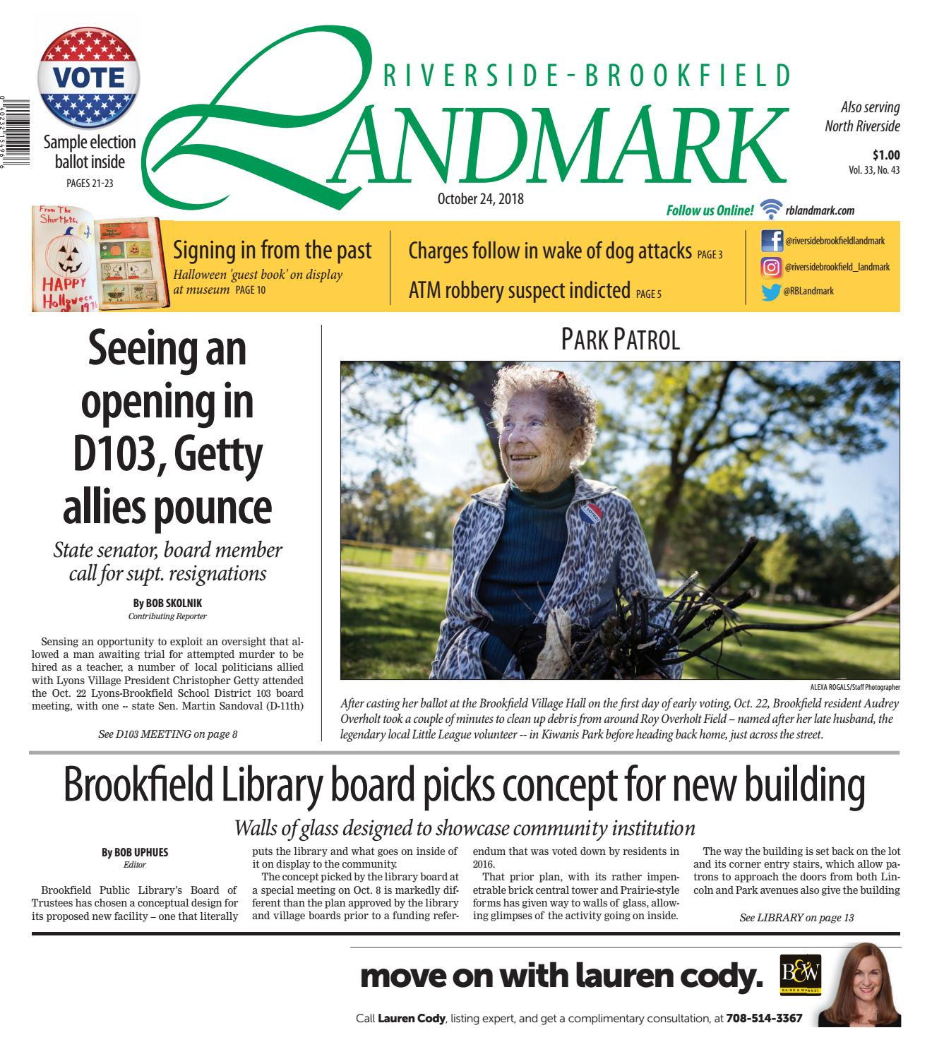 Landmark 102418 By Wednesday Journal Issuu Meanwhile In The 14th Subcircuit A Second Vacancy Has Recently