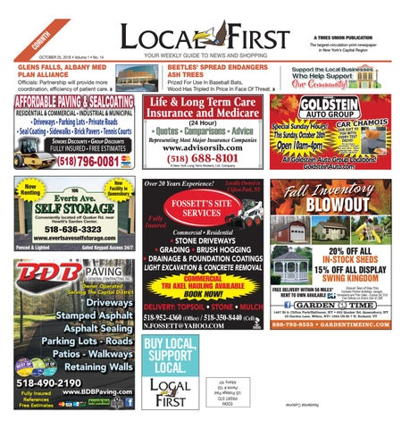 604ab61ed Local First Corinth 102518 by Capital Region Weekly Newspapers - issuu