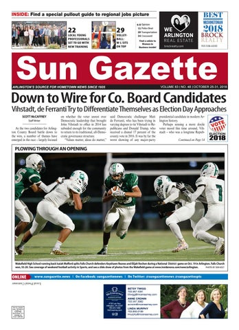 Arlington Sun Gazette 10-25-18 by sungazette - issuu