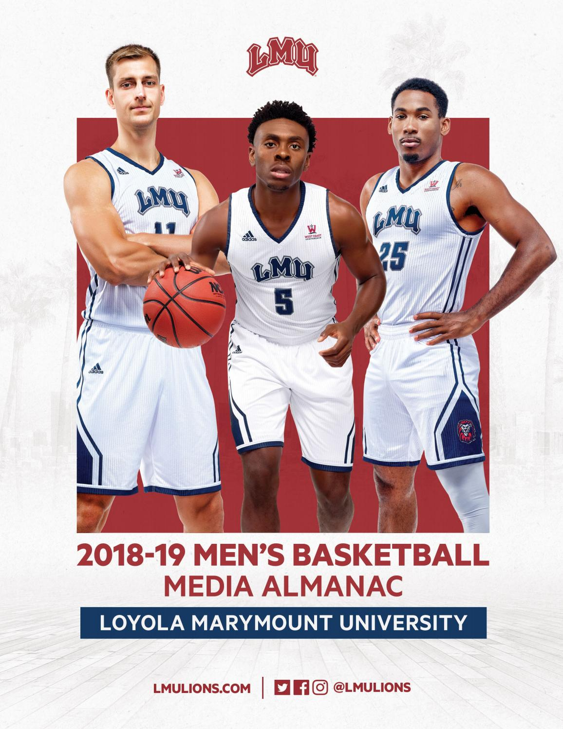 2018-19 LMU Men's Basketball Media Almanac & Record Book by LMU ...