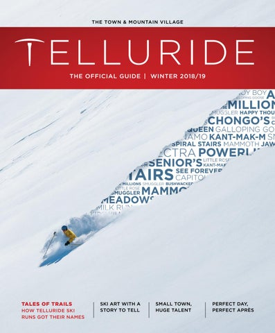 563021e8 Winter 2018/19 Telluride Guide by Visit Telluride - issuu