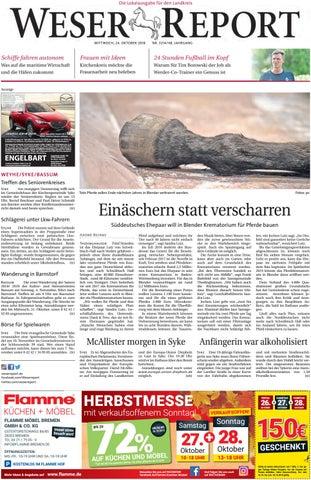 Weser Report Weyhe Syke Bassum Vom 24 10 2018 By Kps