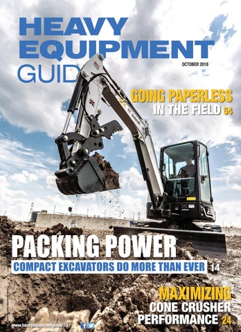 Heavy Equipment Guide October 2018, Volume 33, Number 9 by