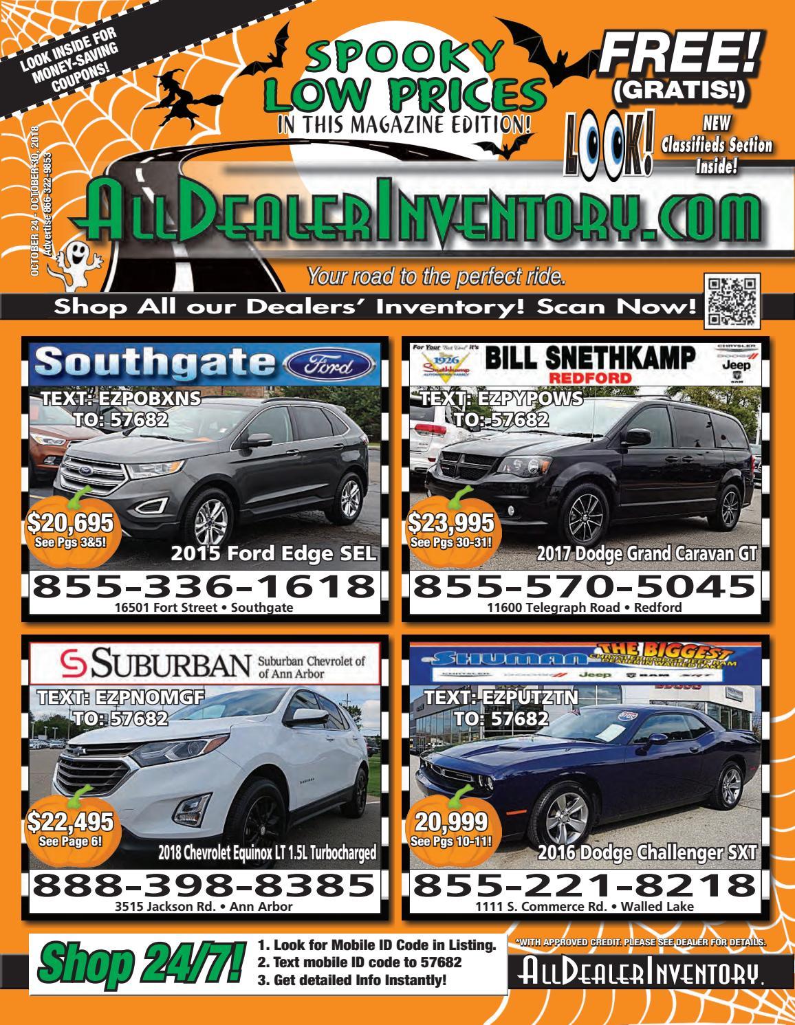 All Dealer Inventory's October 24th Digital Edition! Shop