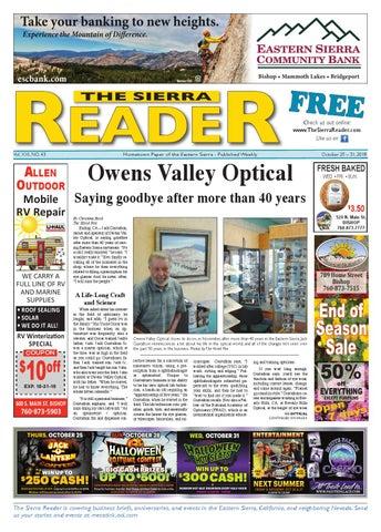eef9dae2cf8d THE SIERRA READER OCTOBER 25 2018 by The Sierra Reader - issuu