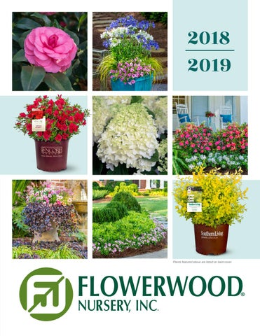 Flowerwood Nursery Inc Catalog 2018 2019 By