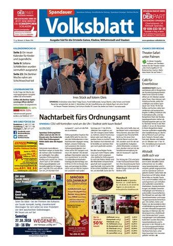 L28 Spandau Sud Spandauer Volksblatt By Berliner Woche Issuu
