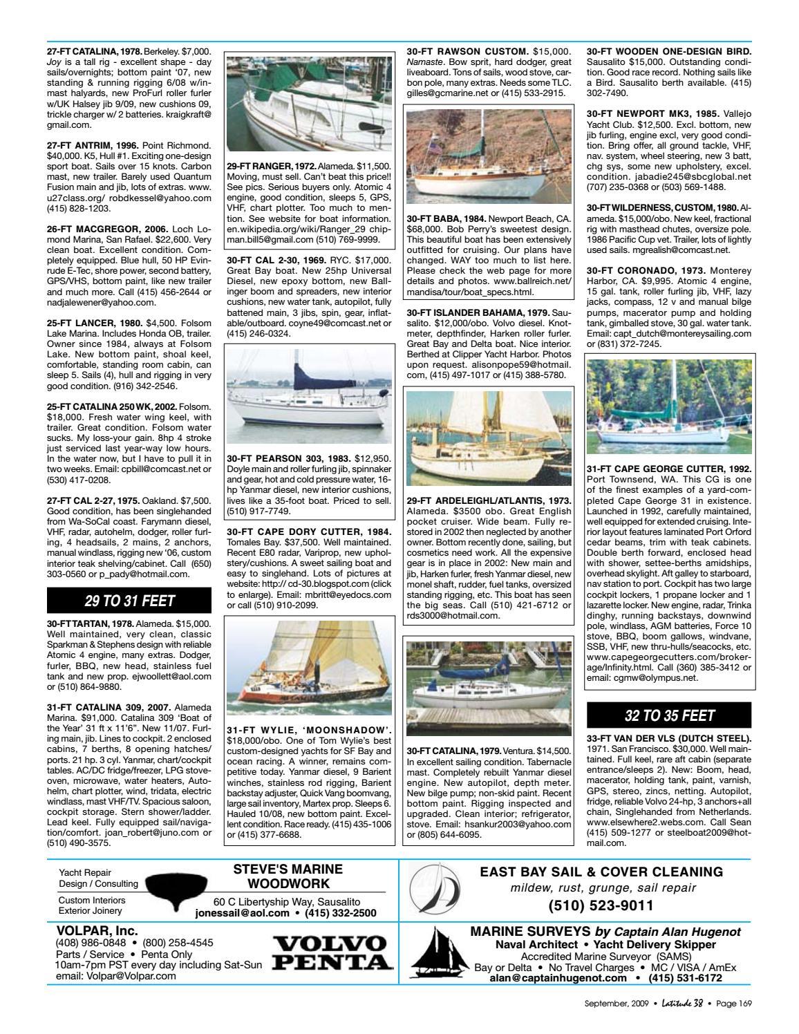 Latitude 38 September 2009 by Latitude 38 Media, LLC - issuu