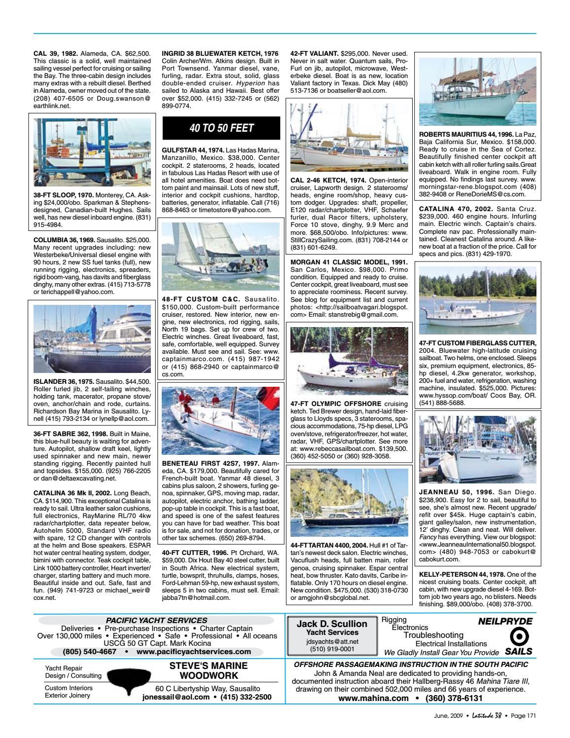 Latitude 38 June 2009 by Latitude 38 Media, LLC - issuu