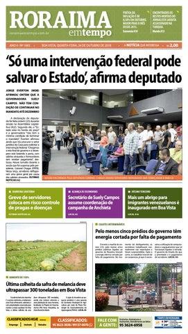 812cfcab9 Jornal Roraima em tempo – edição 1065 by RoraimaEmTempo - issuu