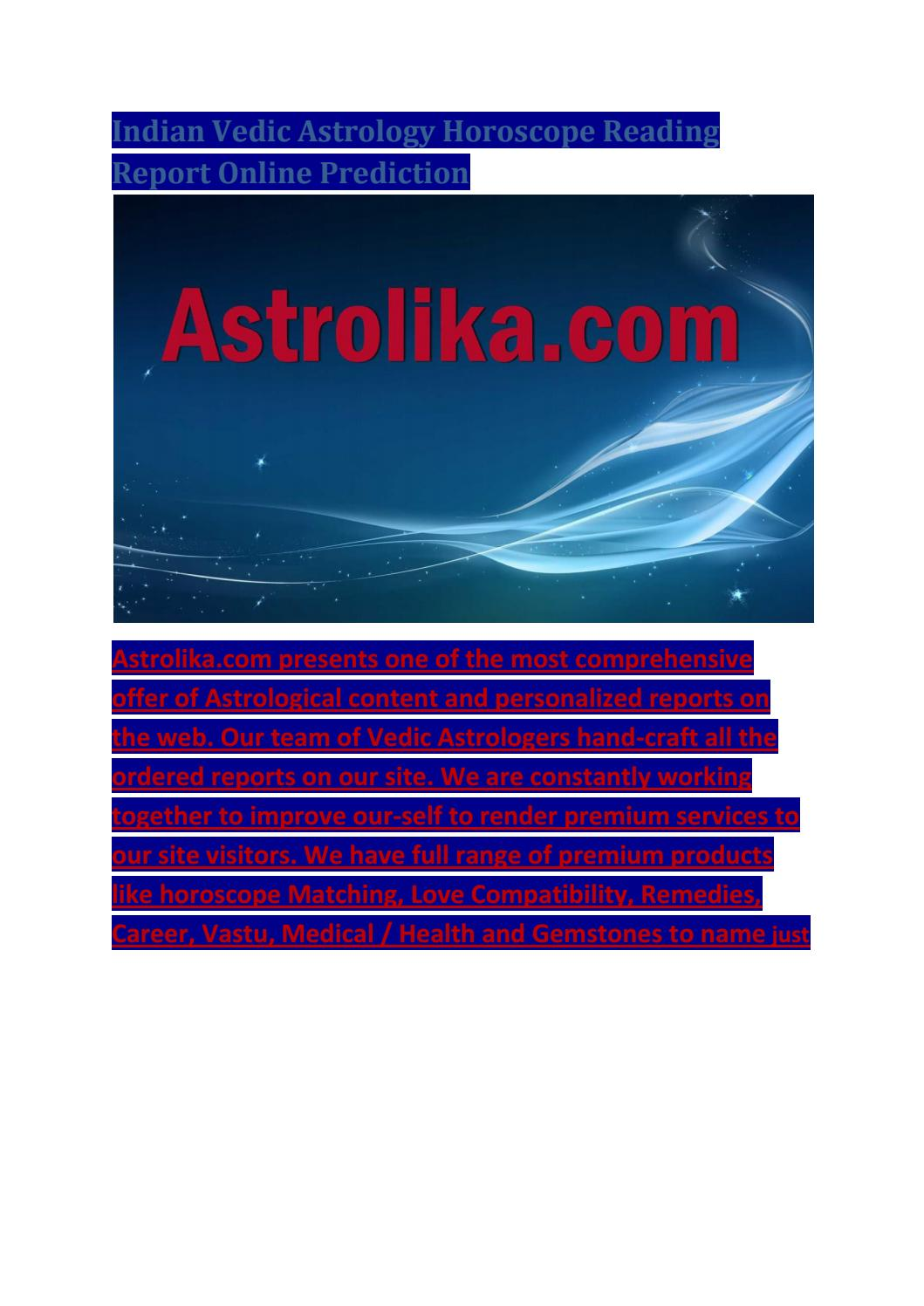 Indian astrology zodiac compatibility chart