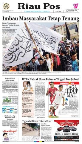 Riau Pos Edisi 24 Oktober 2018 by Riau Pos - issuu 3a265026b8