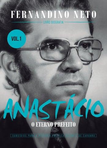 d2756fc232 anastácio o eterno prefeito volume 1 fernandino neto by Sandemberg ...