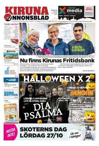 Kiruna Annonsblad vecka 43 88c6eb5c0210b