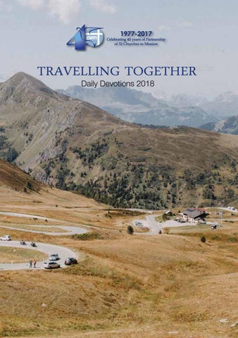 Travelling Together 2018 by Council for World Mission - issuu
