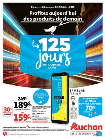 7ba644d3f8005 Catalogue Auchan Hypermarché Du 24 Au 30 Octobre 2018 by ...