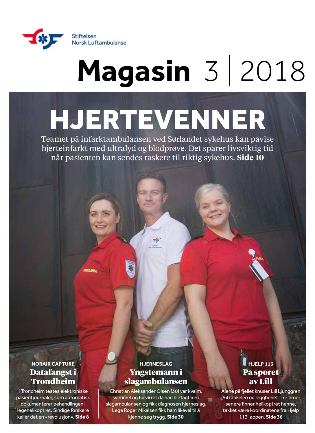 657c7f26 Stiftelsen Norsk Luftambulanse Magasin 0318 by Stiftelsen Norsk  Luftambulanse - issuu