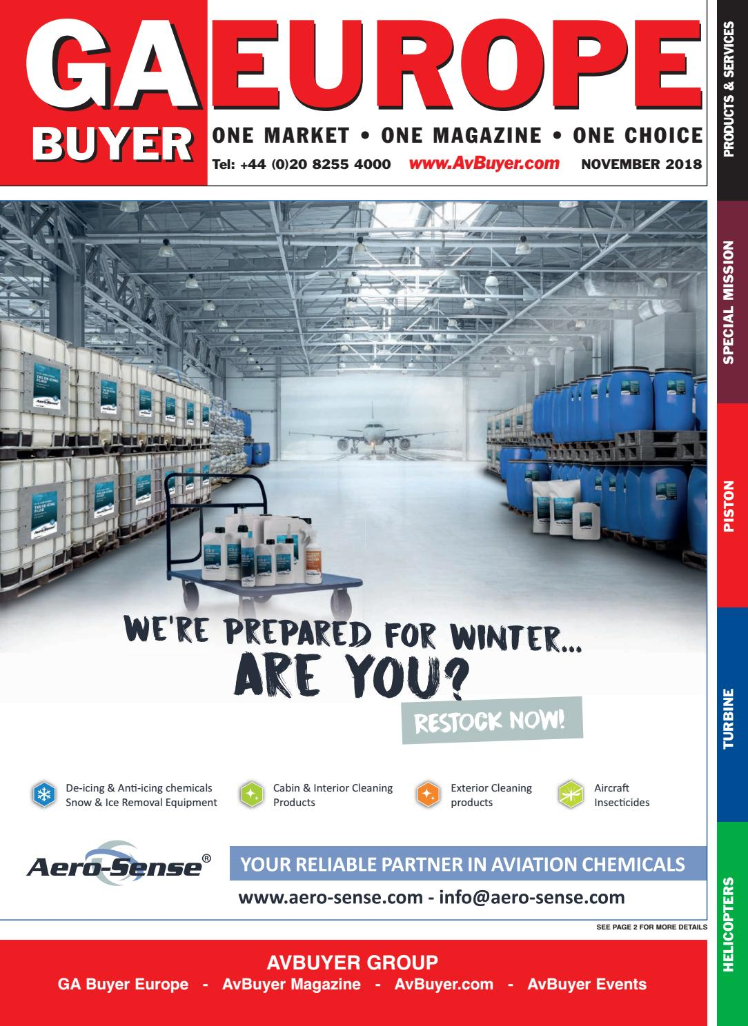 GA Buyer Europe November 2018 by AvBuyer Ltd  - issuu