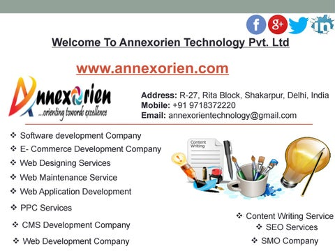Content Writing Service In Delhi by Annexorien Technology - issuu