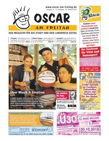 d37ea2044ae6 Oscar am Freitag Gotha und Landkreis – Ausgabe 10 – 26.10.2018 by ...