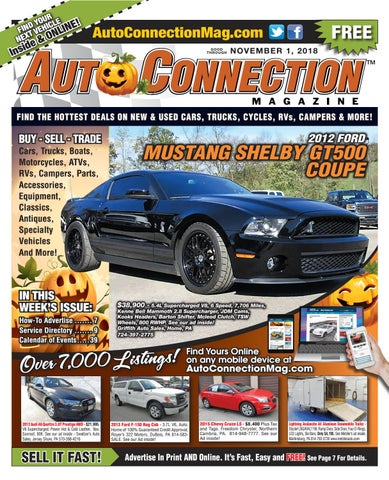 3d9f67bdc7c1d1 11-01-18 Auto Connection Magazine by Auto Locator and Auto ...