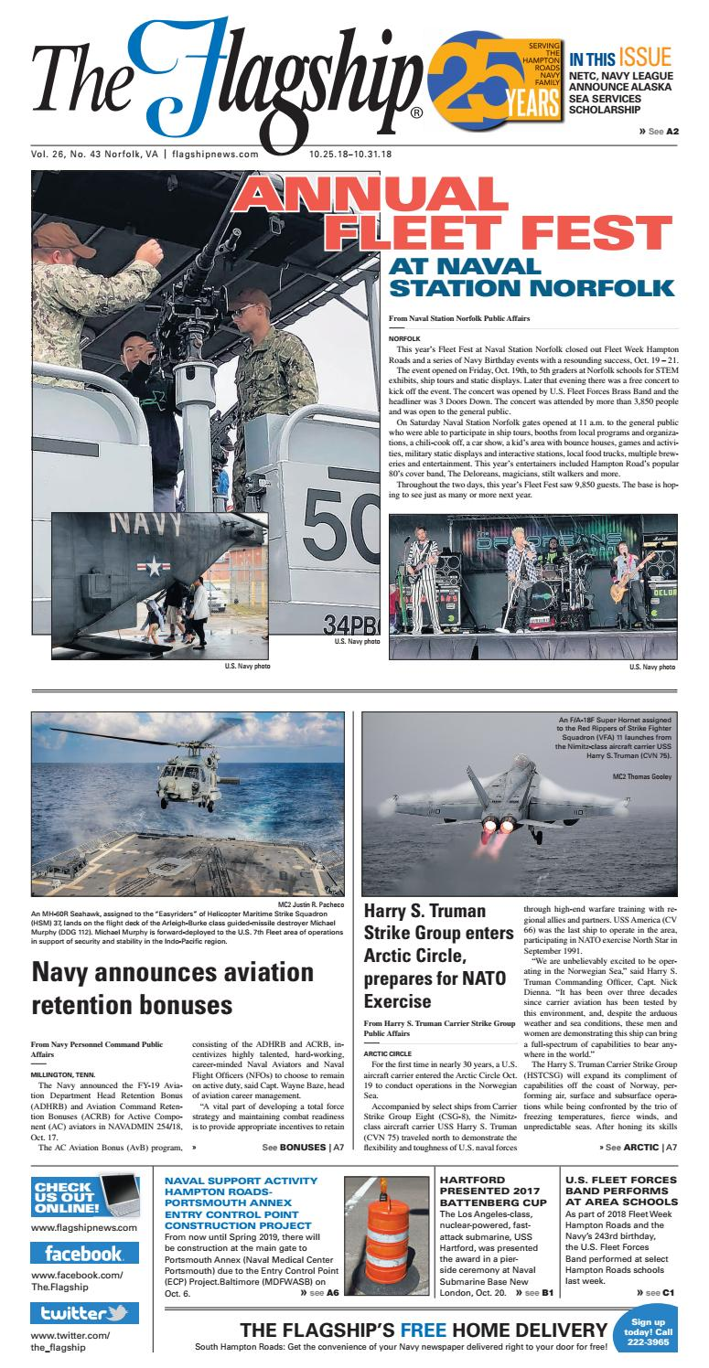 Flagship Edition 10 25 18 by Military News - issuu