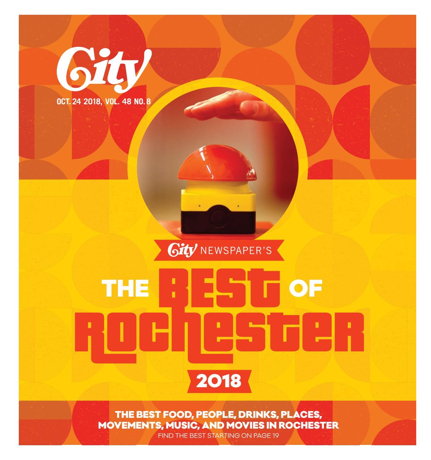 CITY Newspaper, October 24, 2018 by Rochester City Newspaper