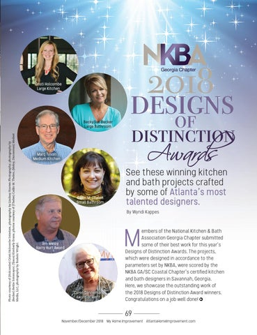 Page 69 of NKBA Georgia Chapter 2018 Designs of Distinction Awards