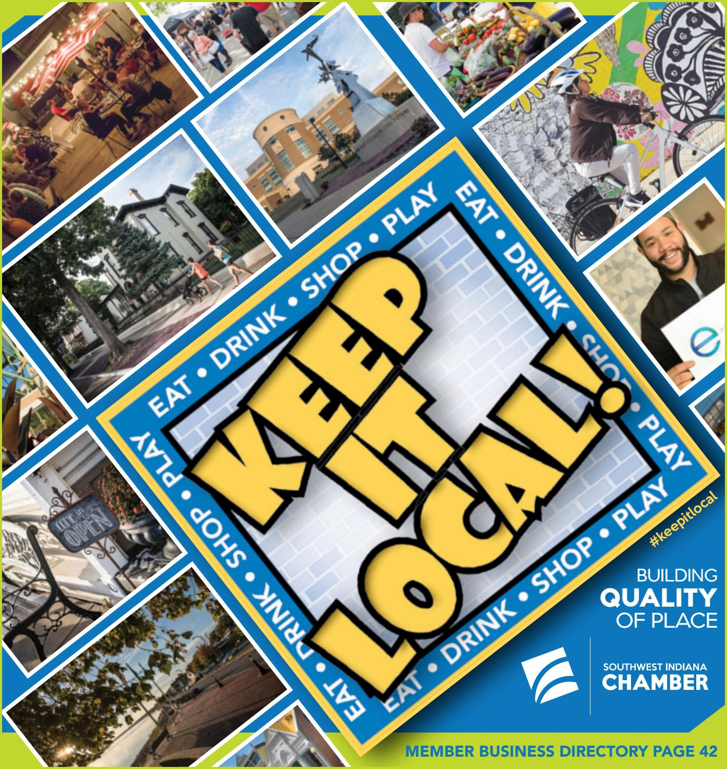38f43a9e7 Keepitlocal2018 by Southwest Indiana Chamber - issuu