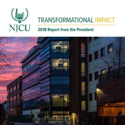 President's Reports | New Jersey City University