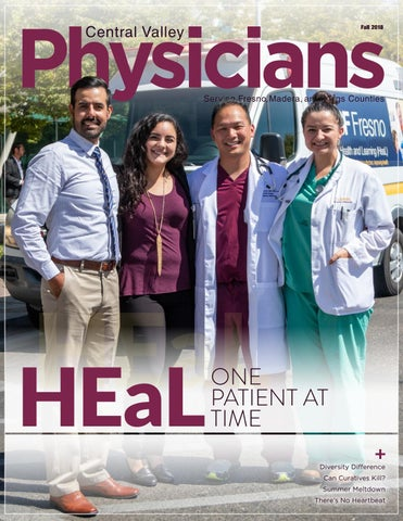 Central Valley Physicians Fall 2018 by Fresno-Madera Medical