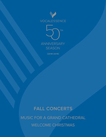 VocalEssence Fall Concert Program Book by VocalEssence - issuu