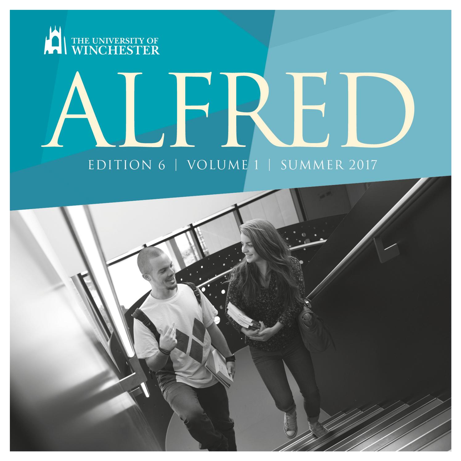 2a1ae60f45c8f ALFRED 2017 Edition 6. Vol. 1 by University of Winchester - issuu