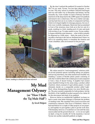 Page 35 of My Mud Management Odyssey