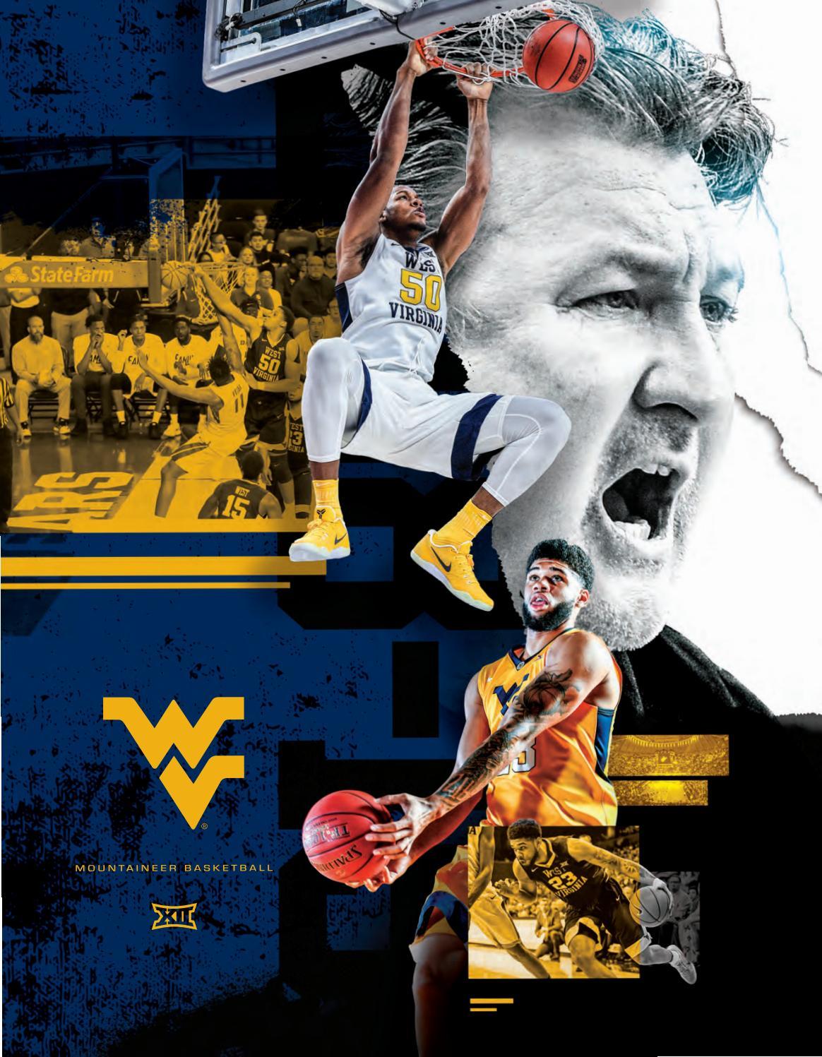 newest e2623 8f38a 2018-19 WVU Men s Basketball Guide by Joe Swan - issuu
