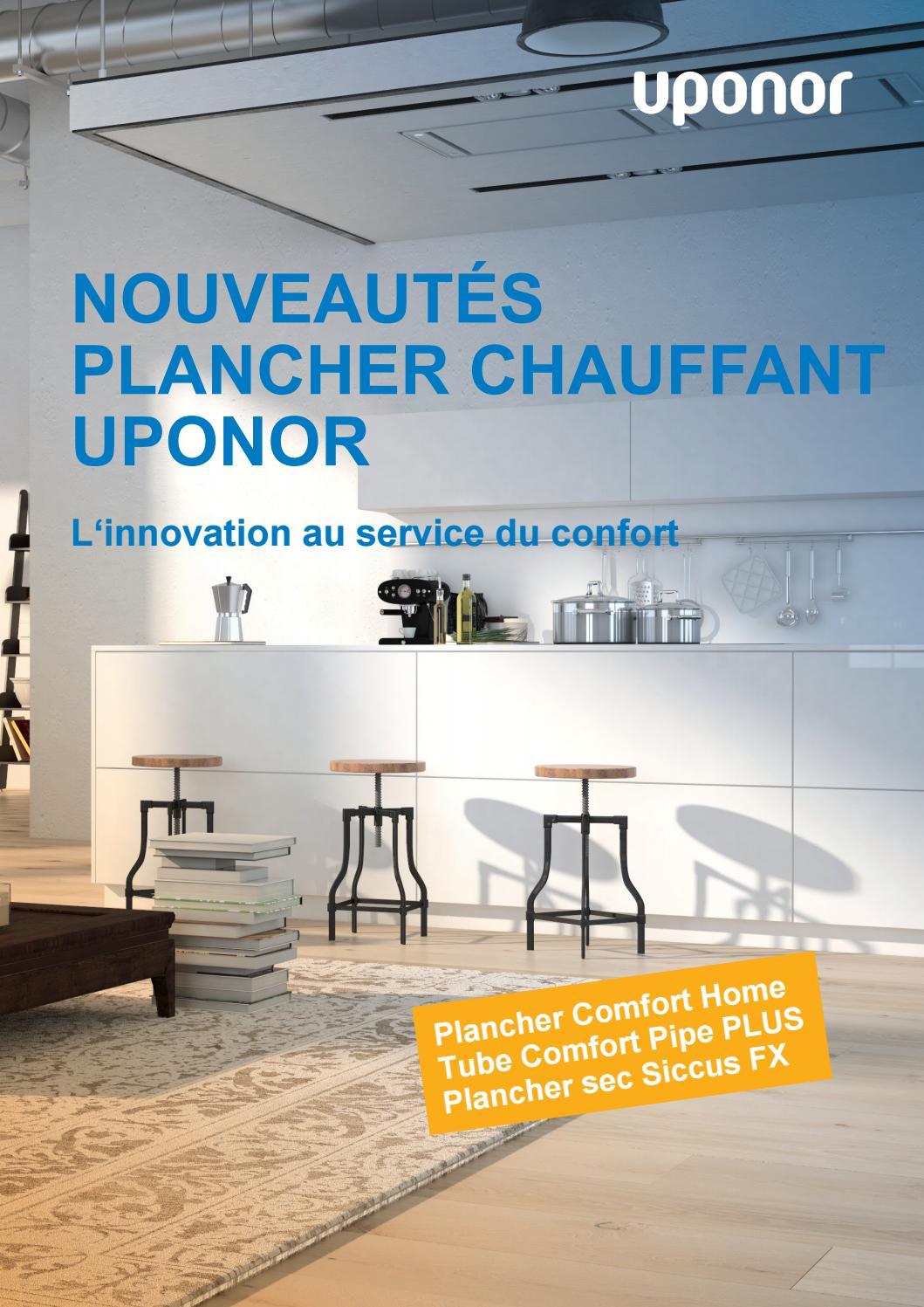 Coût Plancher Chauffant Hydraulique brochure plancher chauffant uponoruponor france - issuu