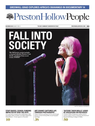 Preston Hollow People November 2018 By People Newspapers Issuu