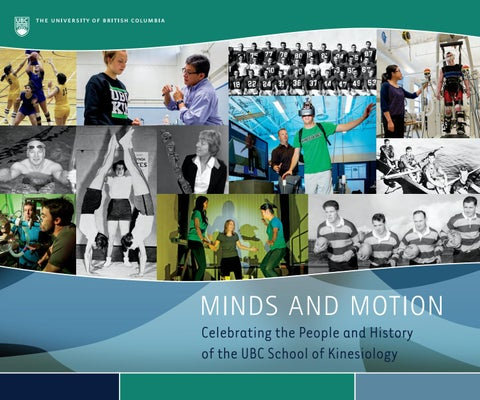 Minds & motion: celebrating the people and history of the ubc school