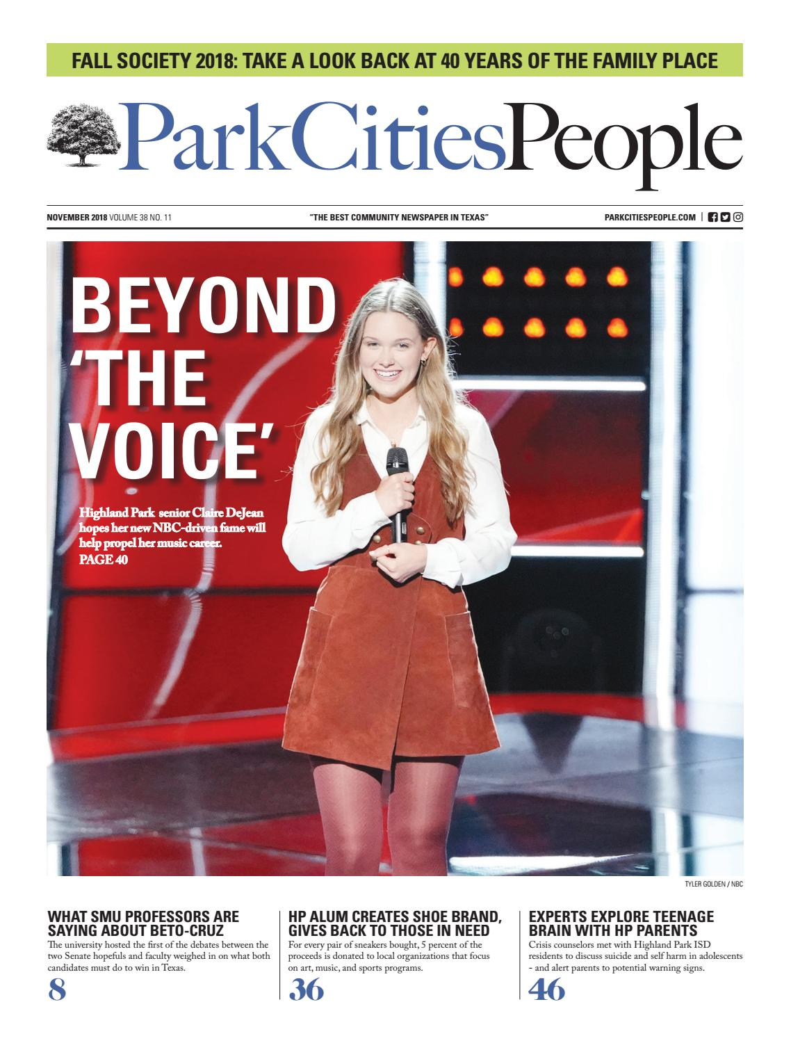 b368264972e Park Cities People November 2018 by People Newspapers - issuu