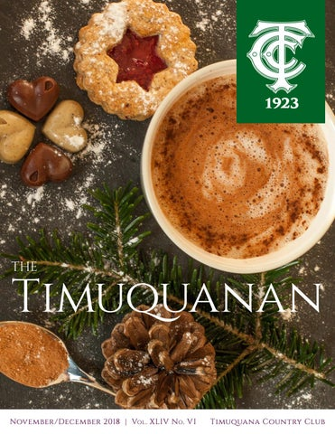 TCC: The Timuquanan Newsletter November/December 2018 by