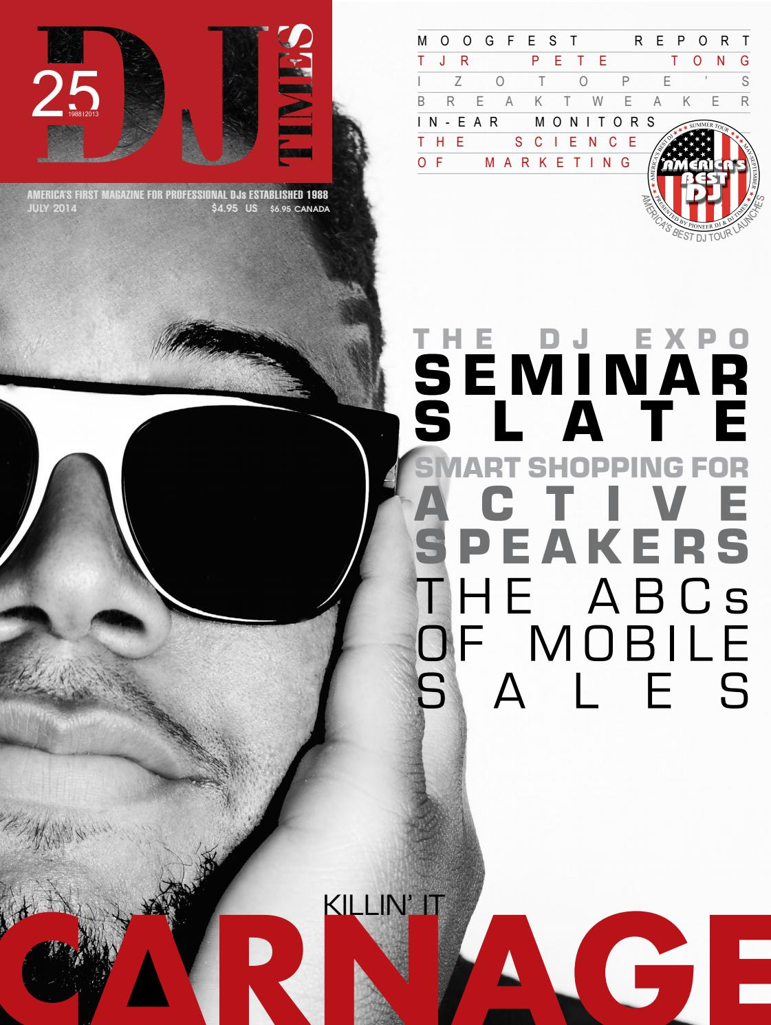 DJ Times July 2014, Vol 27 No 7 by DJ Times Magazine - issuu